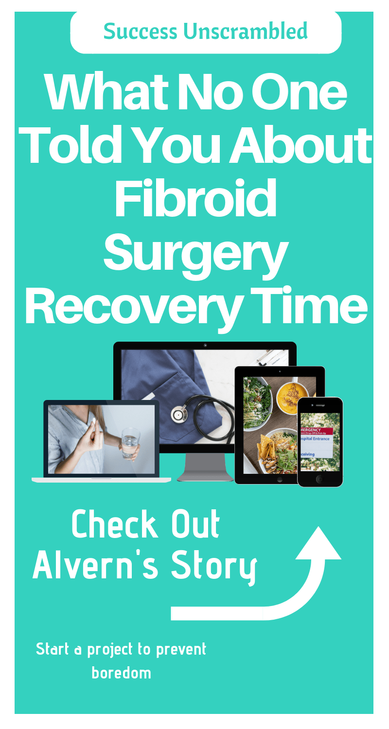 Fibroid Surgery Recovery Time - 800x1500