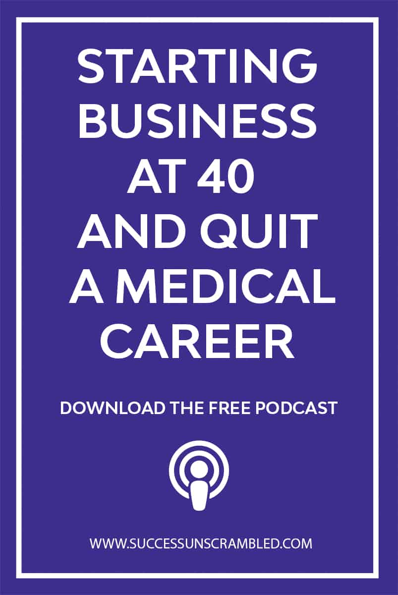 Starting Business At 40 After Quitting Her Medical Career