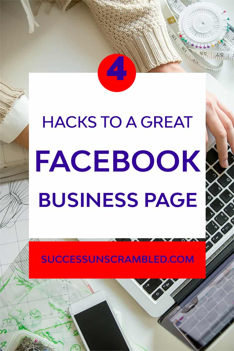 4 hacks to a great Facebook page