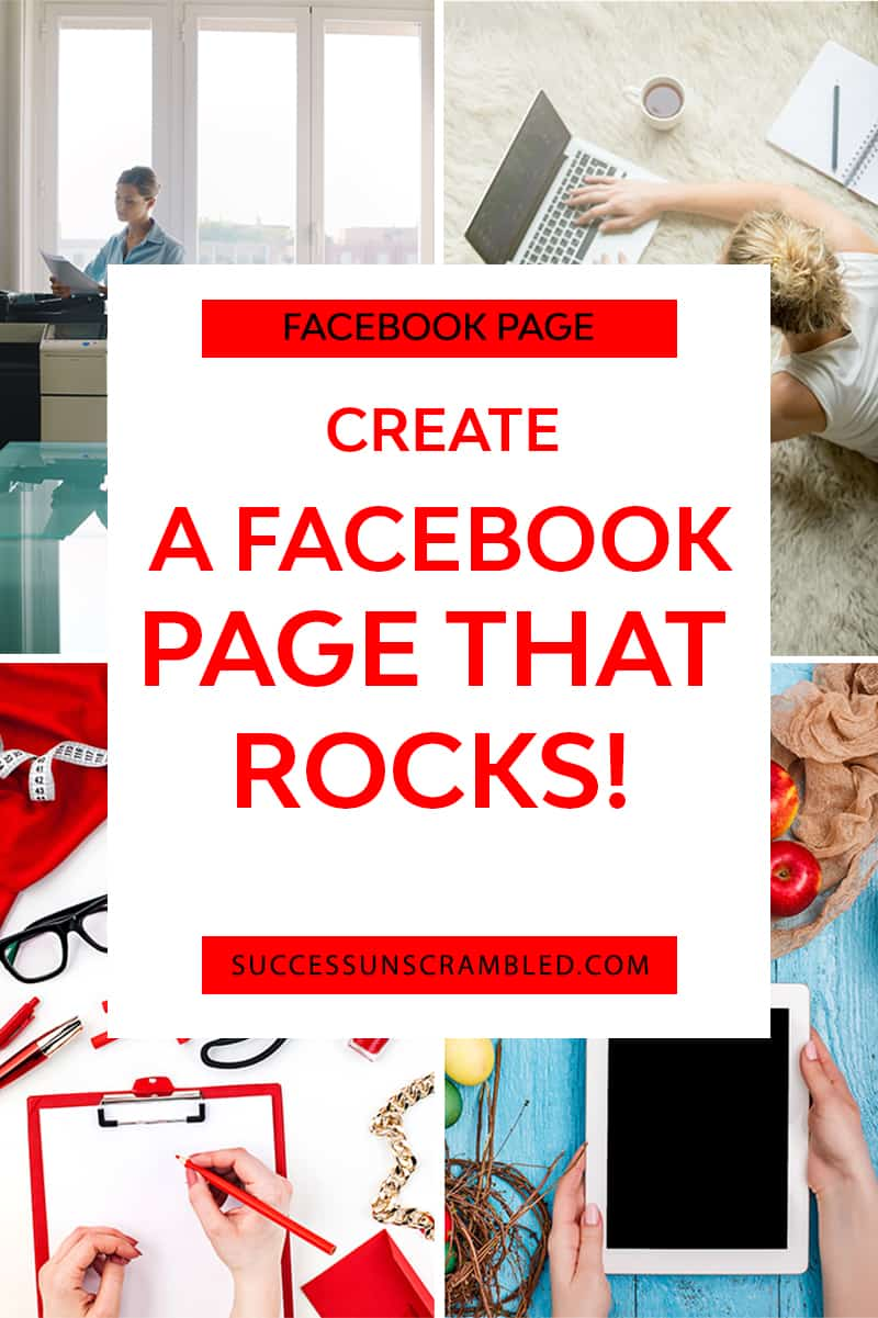 create a facebook page that rocks