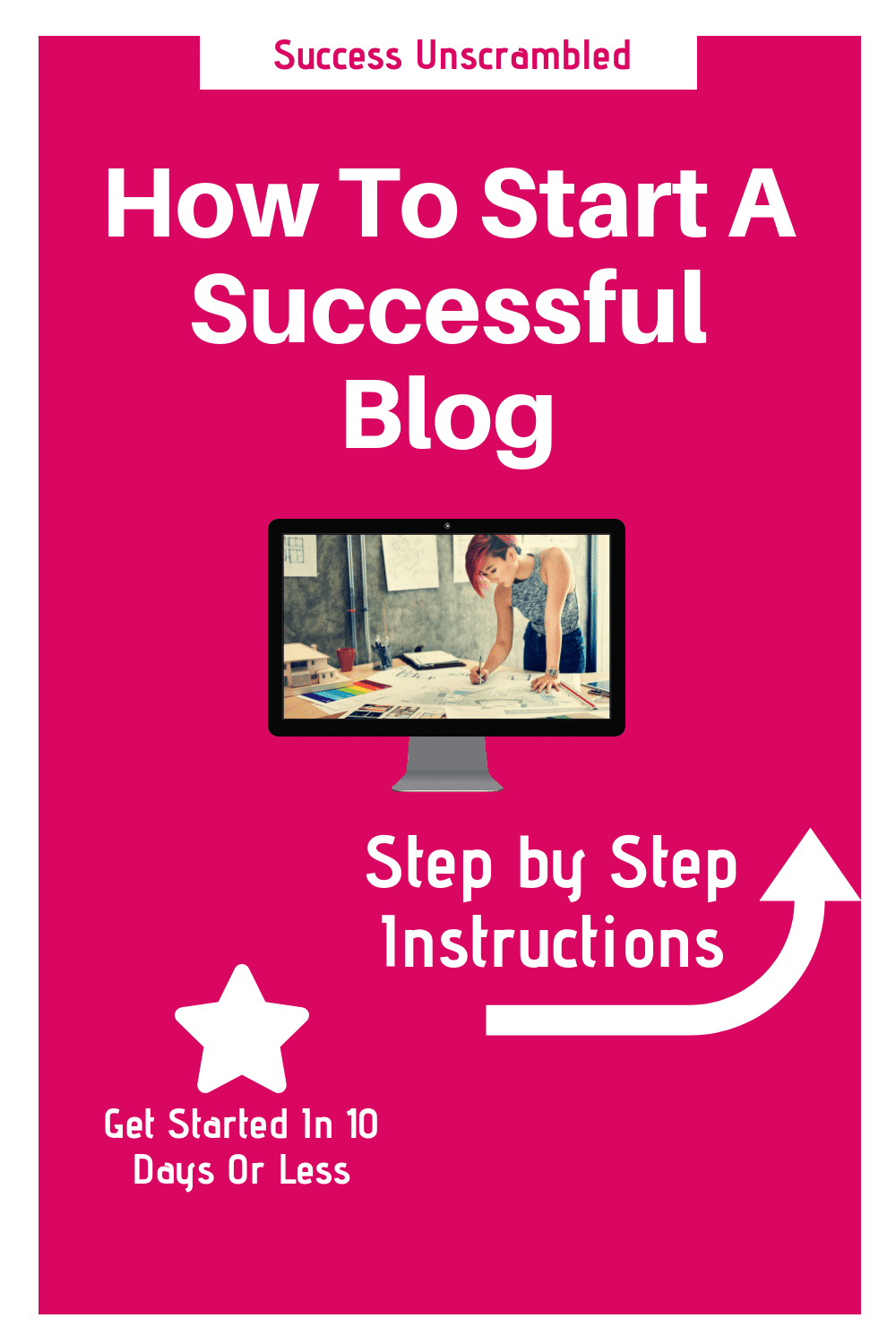 Start a Successful Blog - 1000x1500
