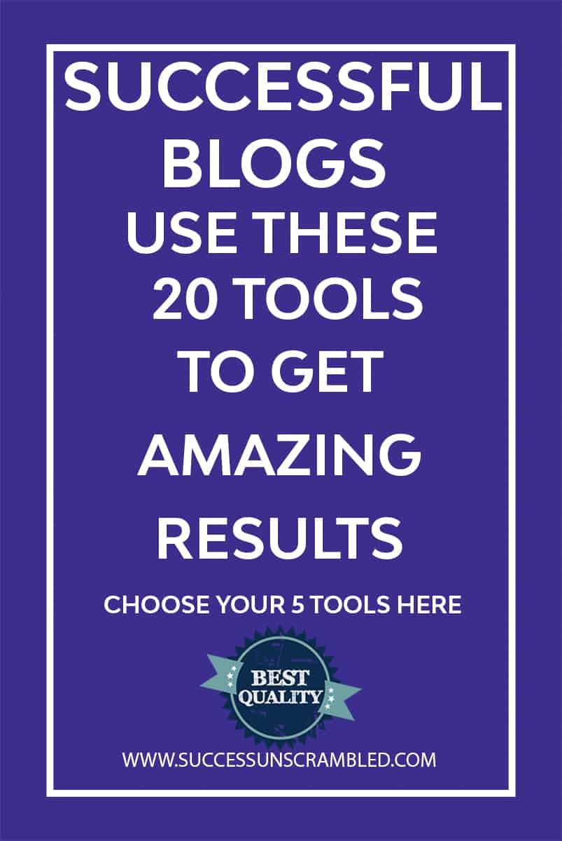 Successful Blogs Use These 20 Tools to Get Results -2