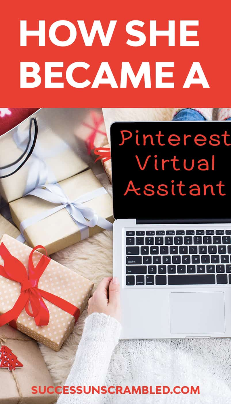 How she became a Pinterest Virtual Assistant