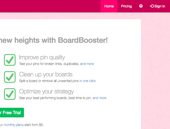 Boardbooster sign in