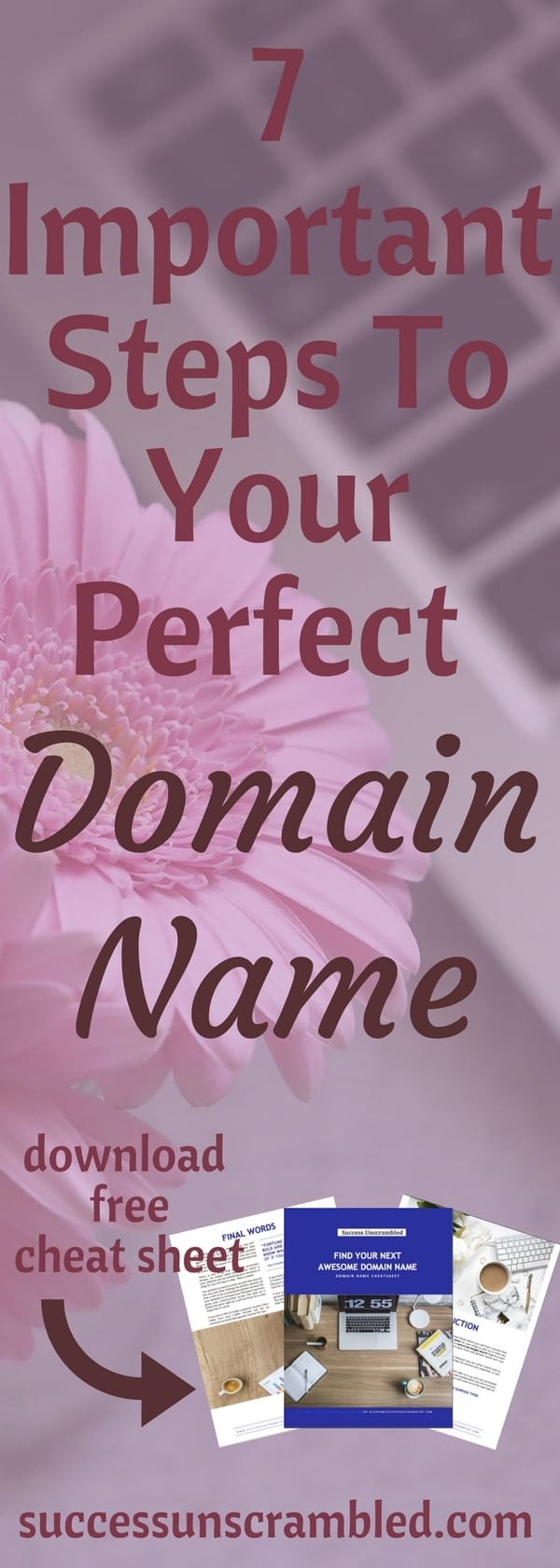 7 Important Steps To Your Perfect Domain Name