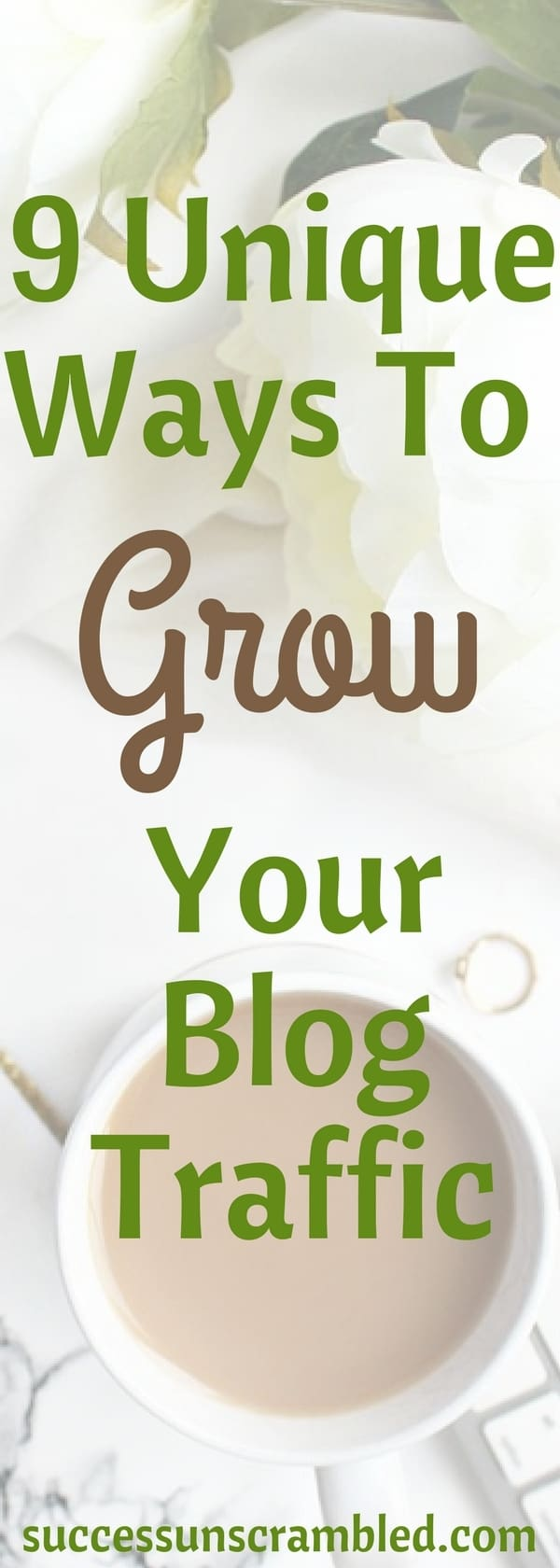 9 Unique Ways To Grow Your Blog Traffic 2