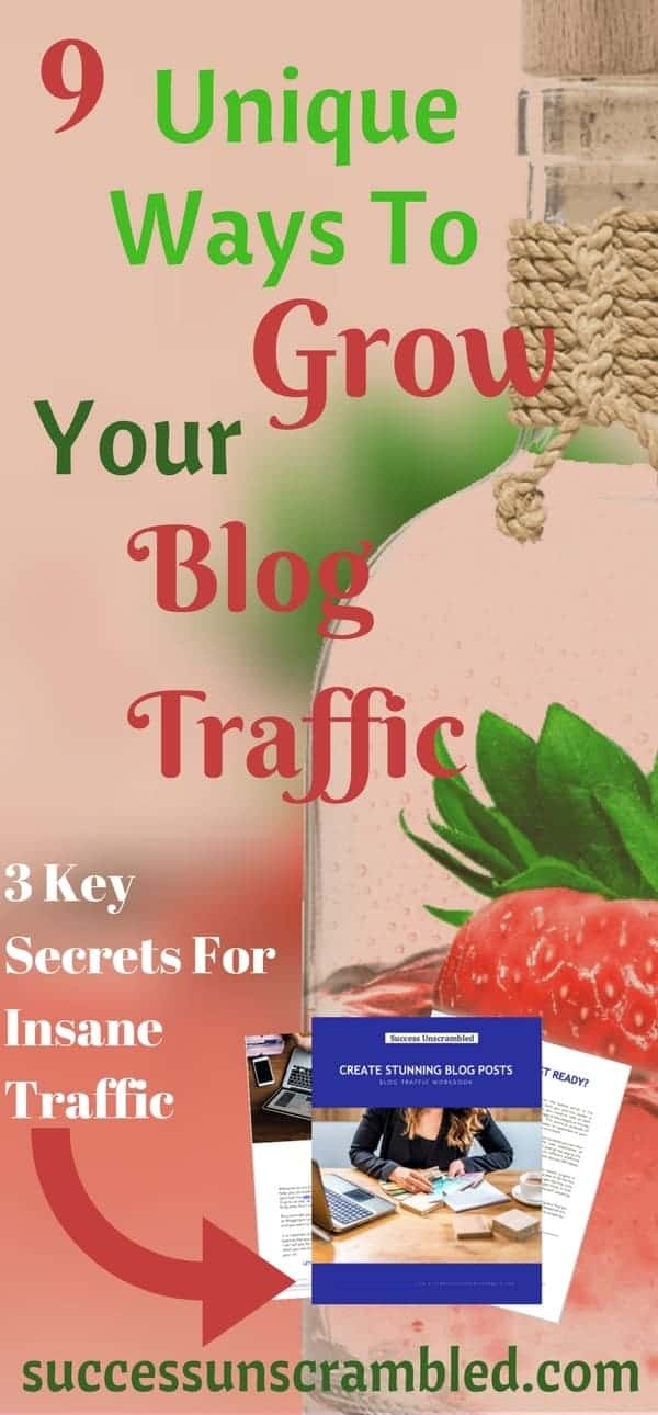 9 Unique Ways To Grow Your Blog Traffic - Mar 18