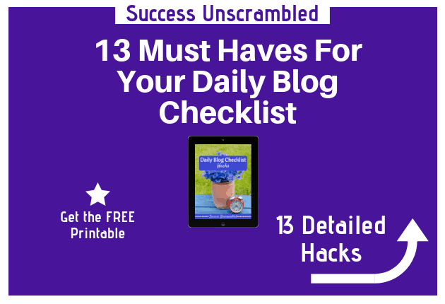 Daily Blog Checklist - 630x430