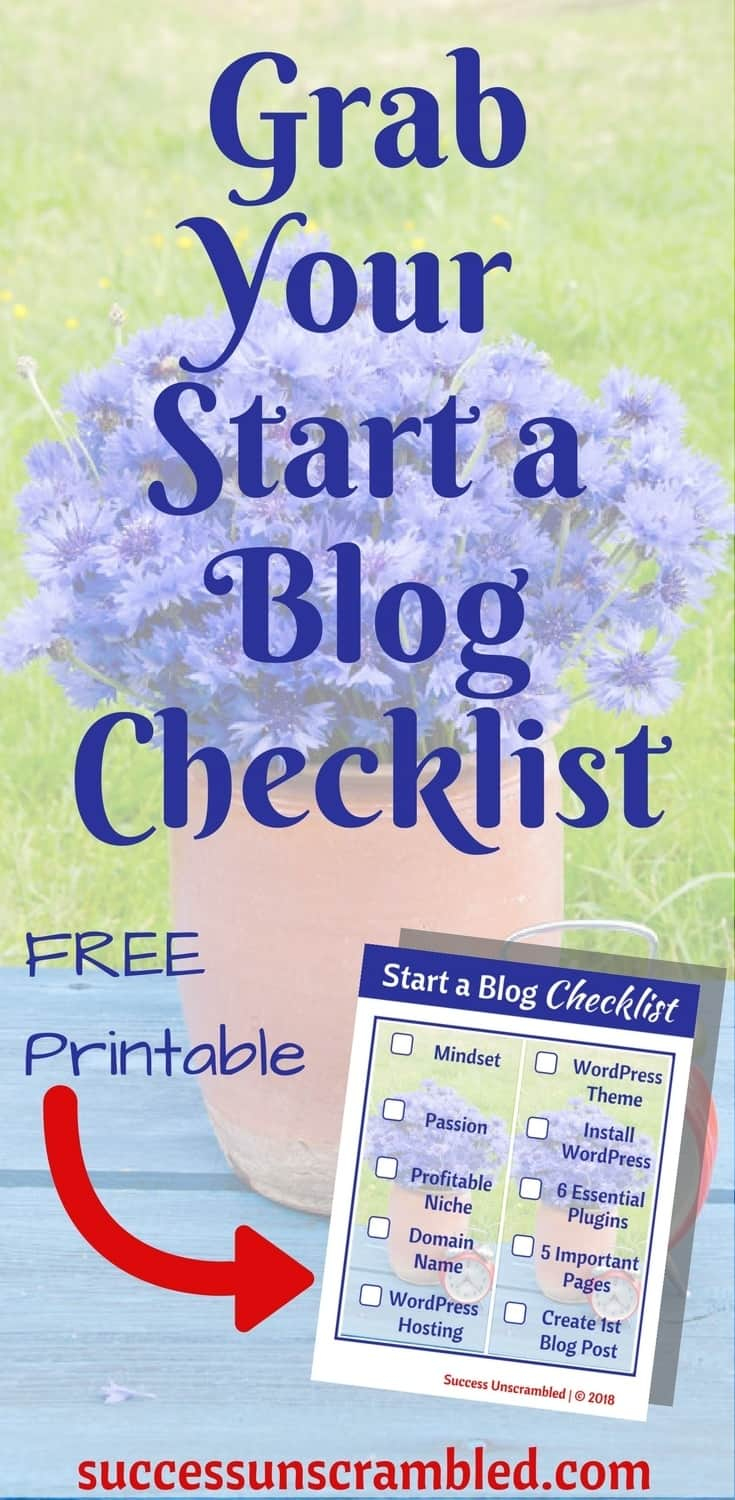 So, you want to start a blog? There are some vital steps that need to be taken when it comes to starting a blog. If you want your blog to become successful there are 10 steps recommended by pro bloggers which can be found in the post. Grab a free start a blog checklist.
