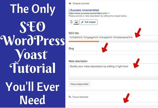 The only WordPress Yoast SEO tutorial that will help you too quickly get your blog post optimised so that you will rank higher in Pinterest as well as the search engines. Higher ranking will bring a lot more traffic to your blog and...