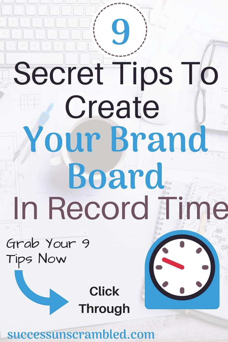 These 9 secret tips will help you to create your brand board during your next lunch break with so much enjoyment. You never knew that creating a brand board could be so much fun. Branding is essential for blogging and growing your business to create a consistent experience across all platforms.