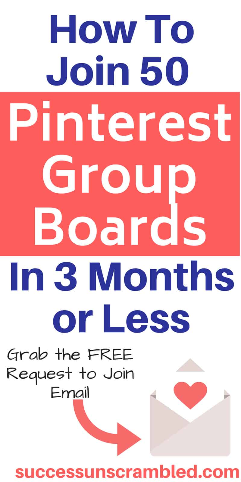 How To Join 50 Pinterest Group Boards in 3 Months or Less