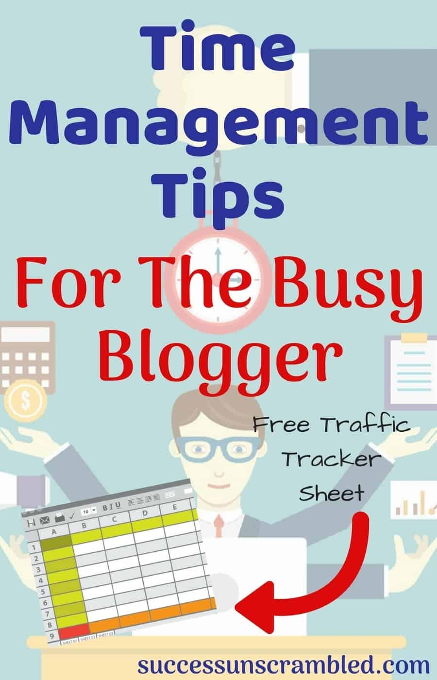 Time management tips are most valuable when you can see a return on investment as a blogger. Have you tracked your return on time invested in your blog? Grab these 9 time management tips as well as this productivity tracker to generate your first $5,000 a month.