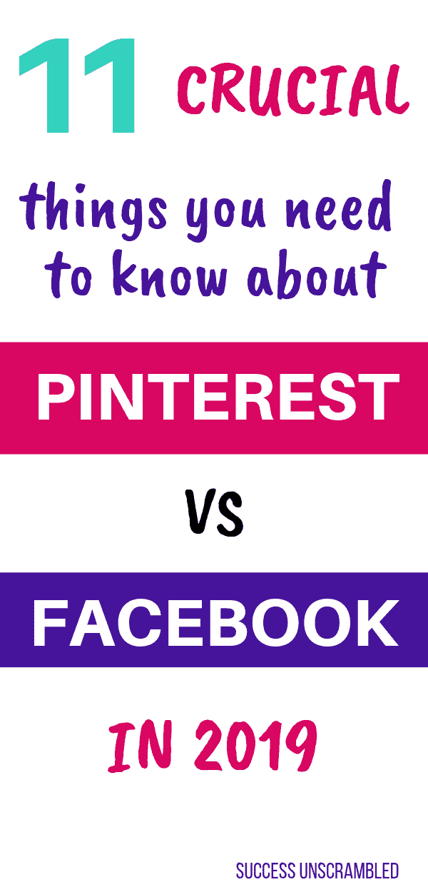 11 Crucial things you need to know about Pinterest vs Facebook