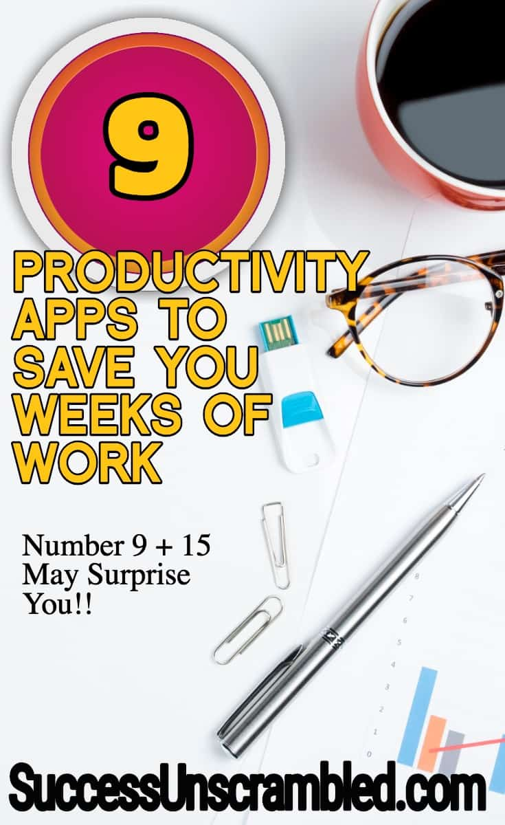 9 Productivity Apps To Save You Weeks of Work (1)
