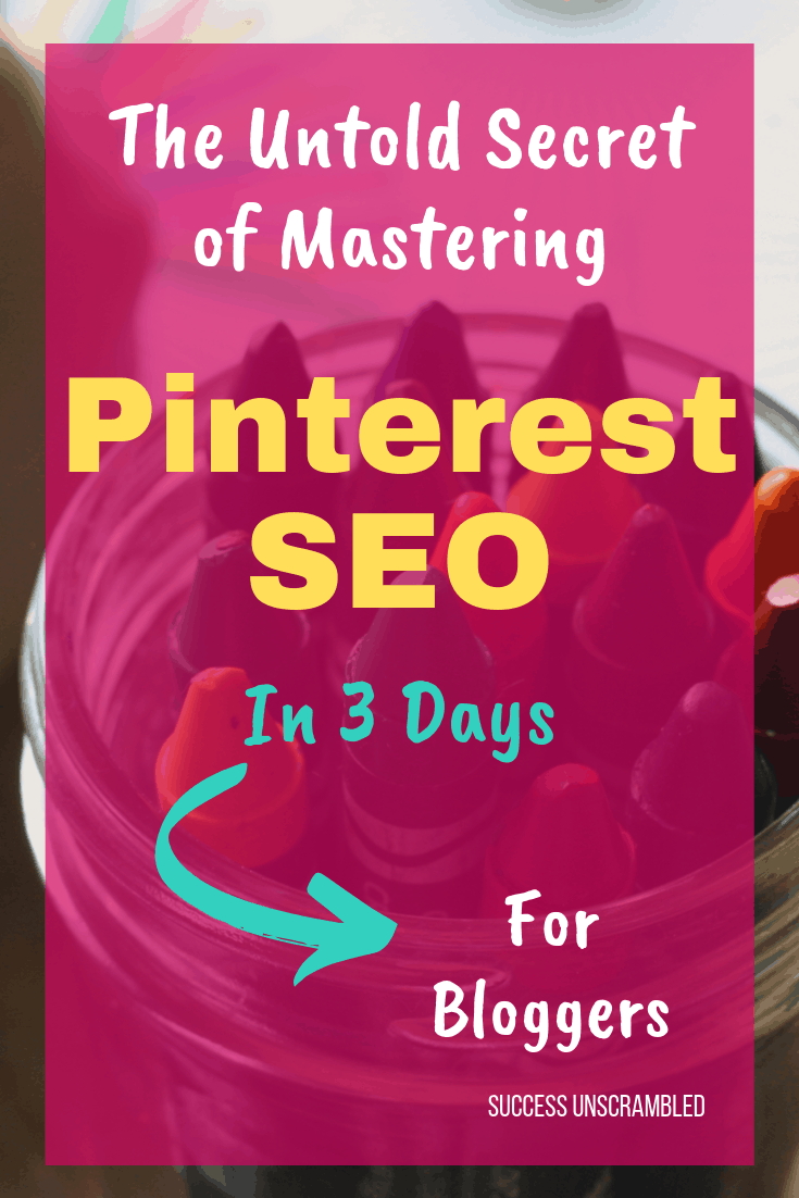 Master Pinterest SEO in 3 Days