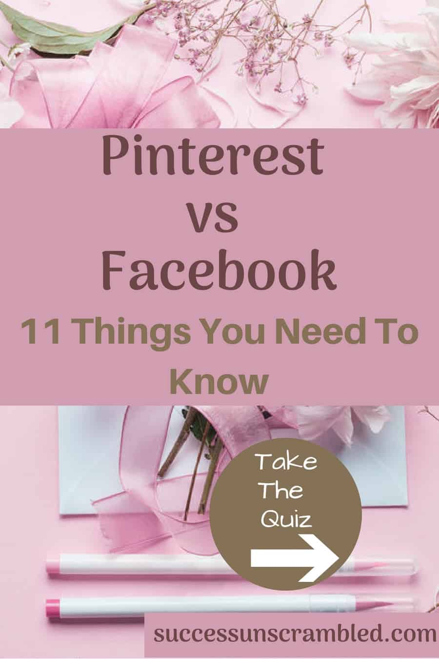 Pinterest vs Facebook - 11 Things You Need To Know