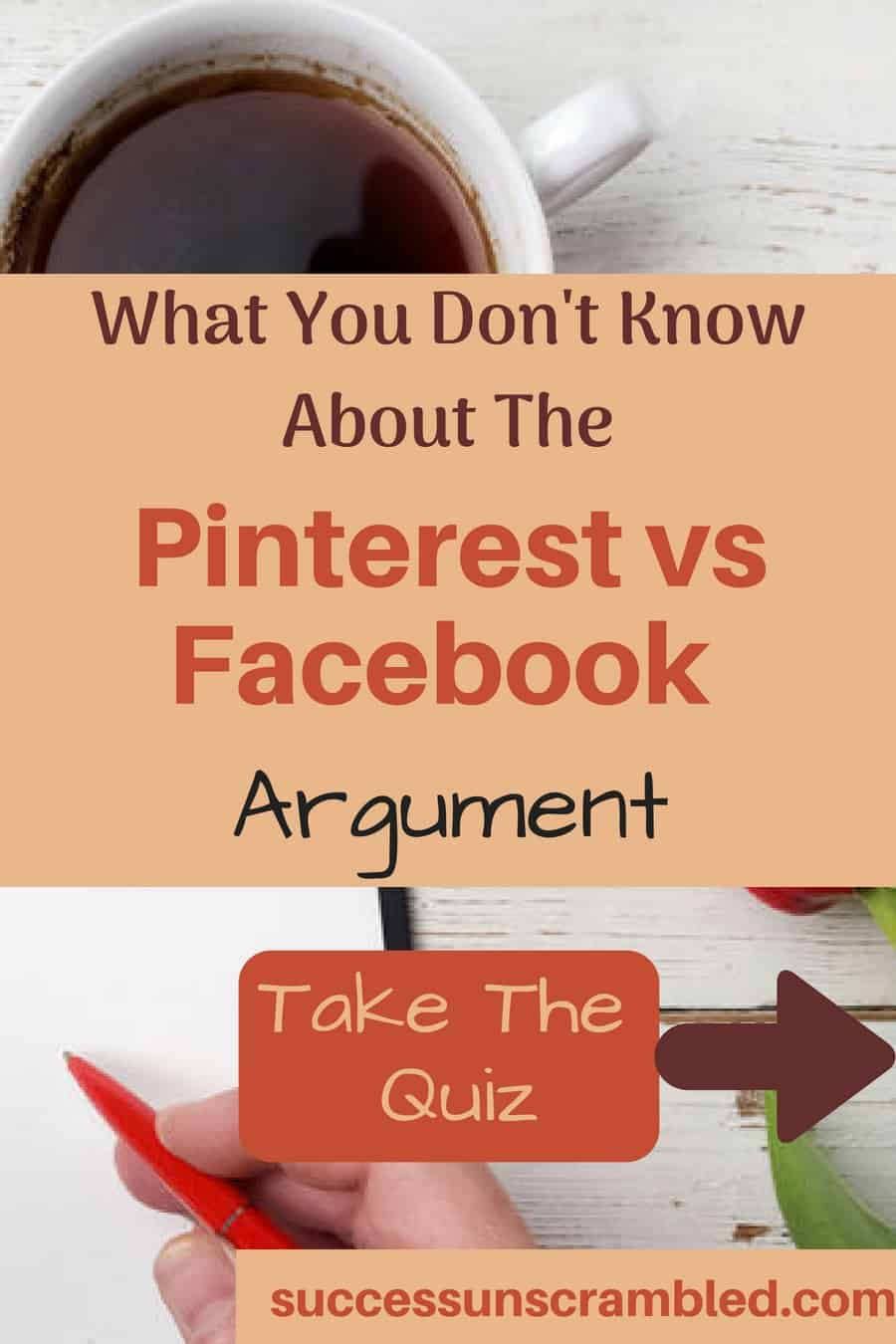 What You Don't Know About The Pinterest vs Facebook Argument