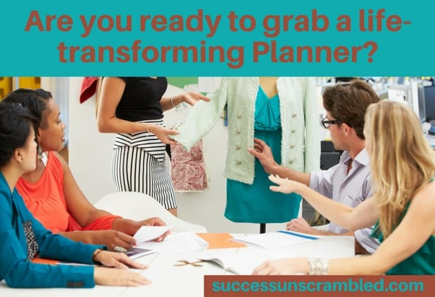 Are you ready to grab a life transforming Planner - blog