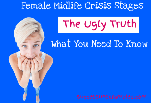 Female midlife crisis stages - blog