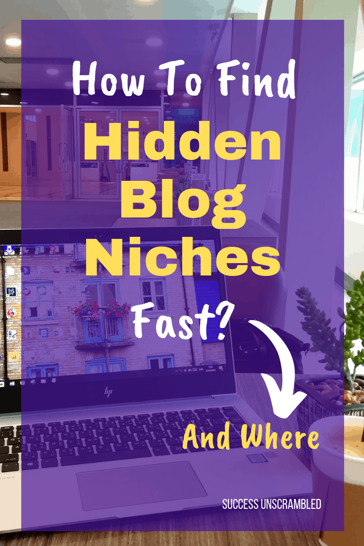 Find Hidden Blog Niches Fast