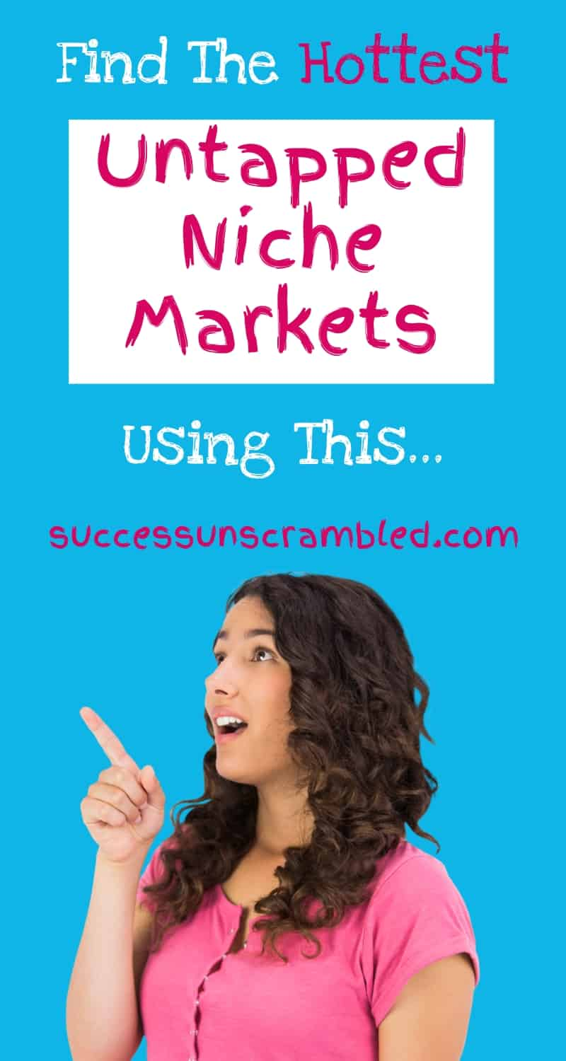 One of the keys to starting a profitable blog is finding a hungry market that needs the product or service that you are promoting.  Ever wondered how to find this hungry market or untapped niche market?  Watch over my shoulder as I show you how.