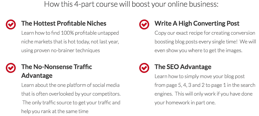 Untapped Niche Market 4-Part Course-1
