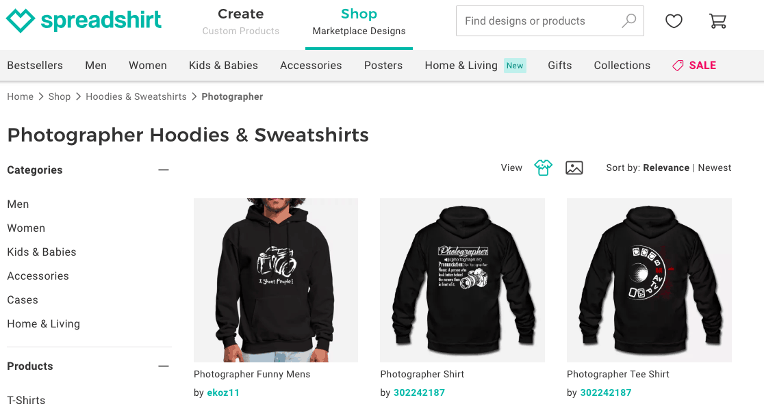 great niche ideas hoodies for photographers