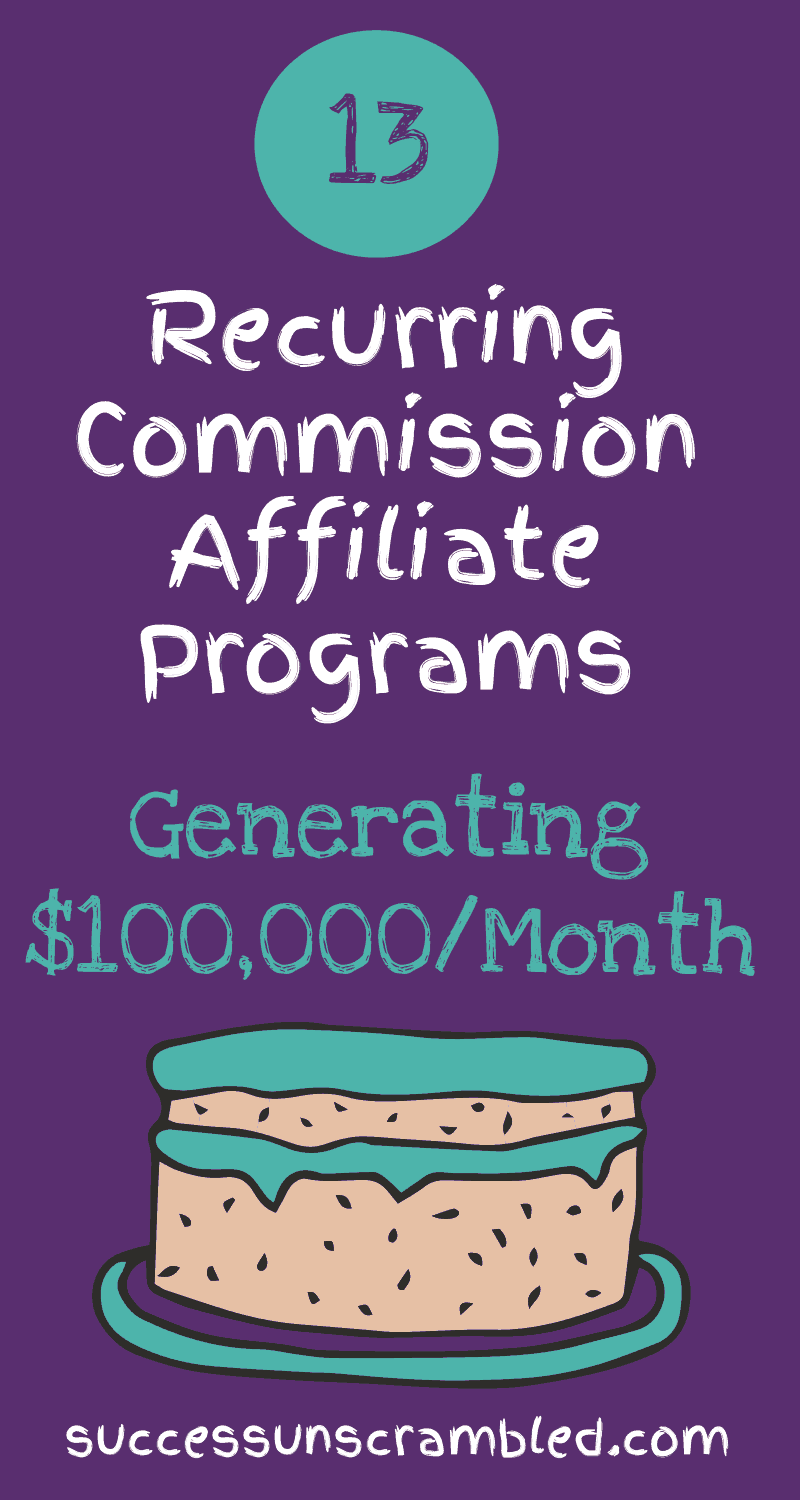 13 Recurring Commission Affiliate Programs Generating $100,000_Month - 2