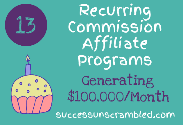 13 Recurring Commission Affiliate Programs Generating $100,000_Month - blog