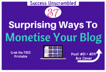 Monetise Your Blog - 630x430
