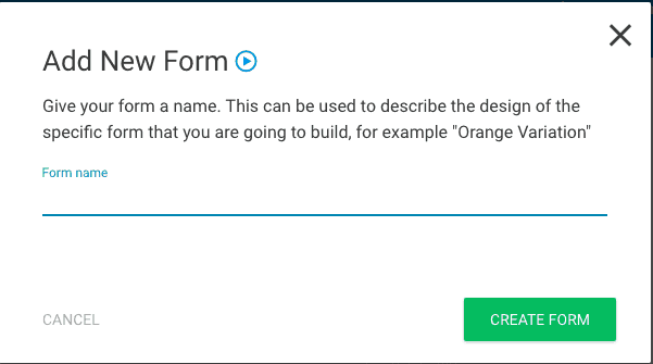 Thrive leads form creation part 1
