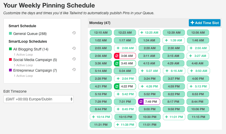 Your Schedule - Tailwind App