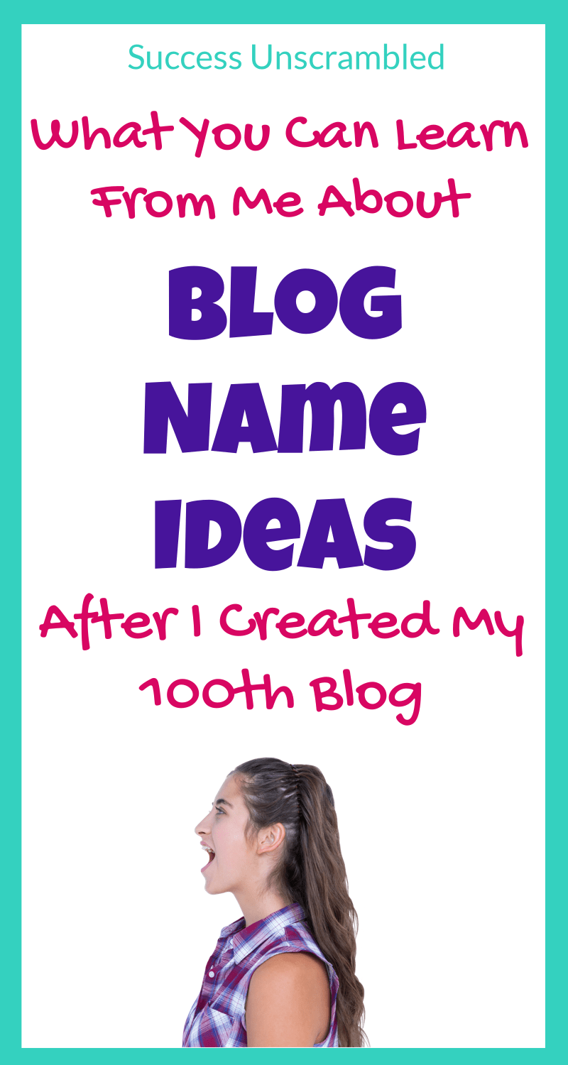 Blog Name Ideas 3