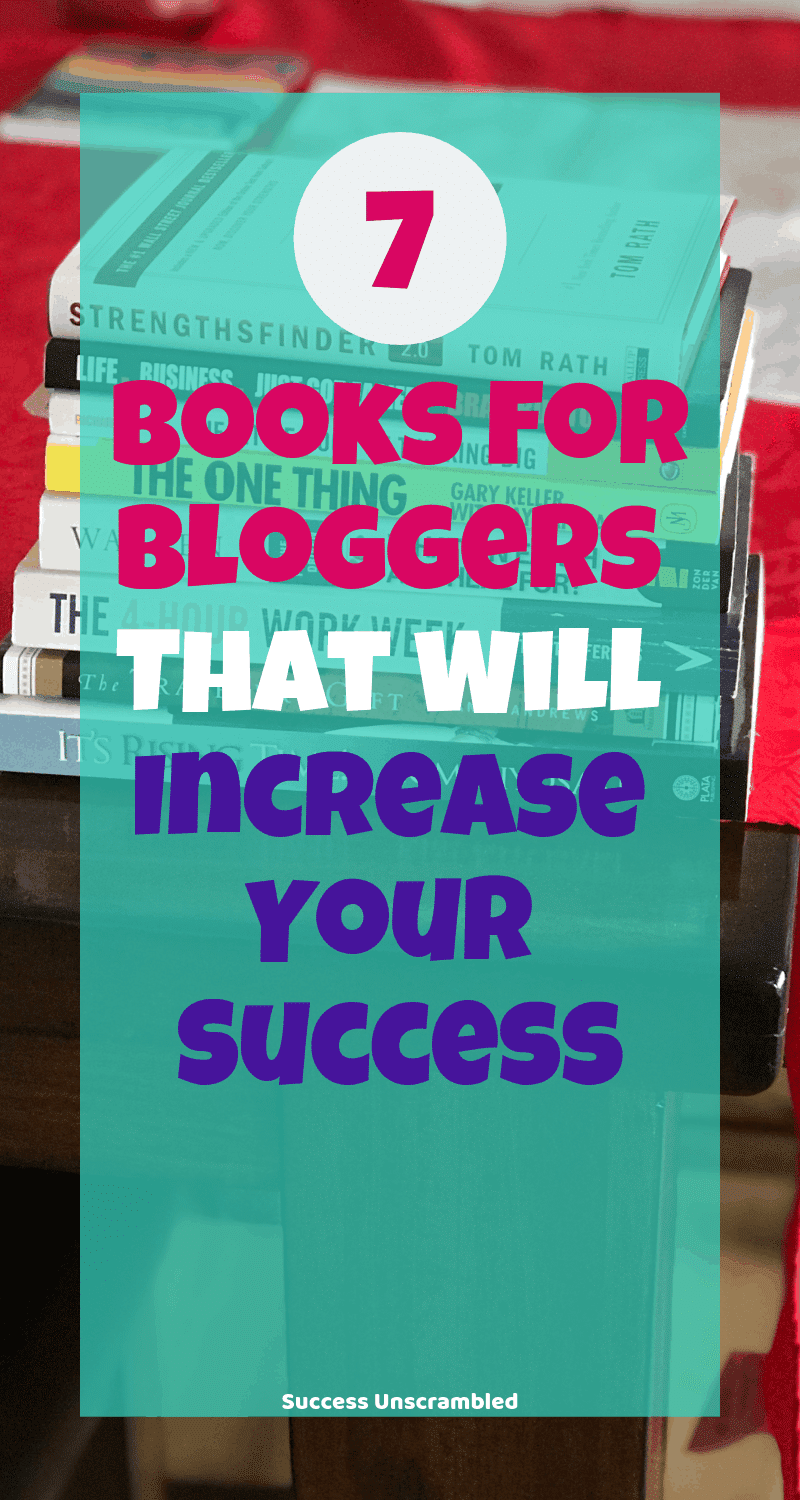 7 Books For Bloggers - 800x1500