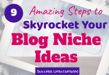 Blog Niche Ideas - 630x430