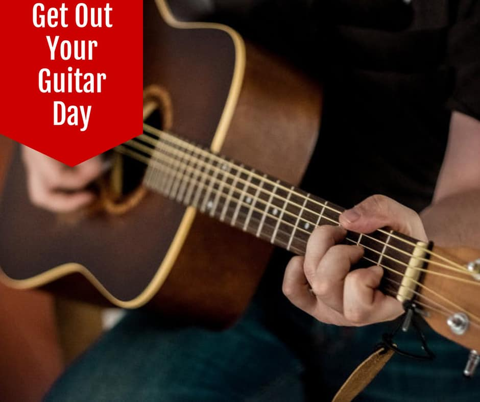 National guitar day PromoRepublic