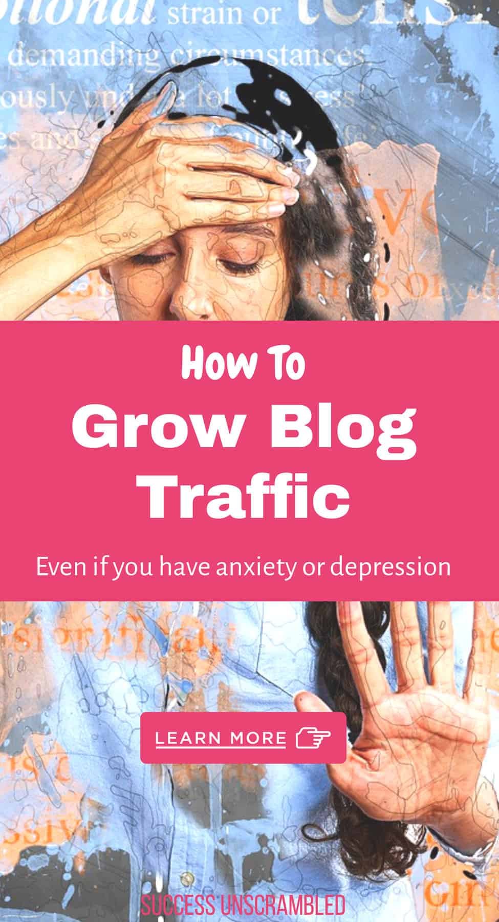 how to grow blog traffic even if you have anxiety and depression
