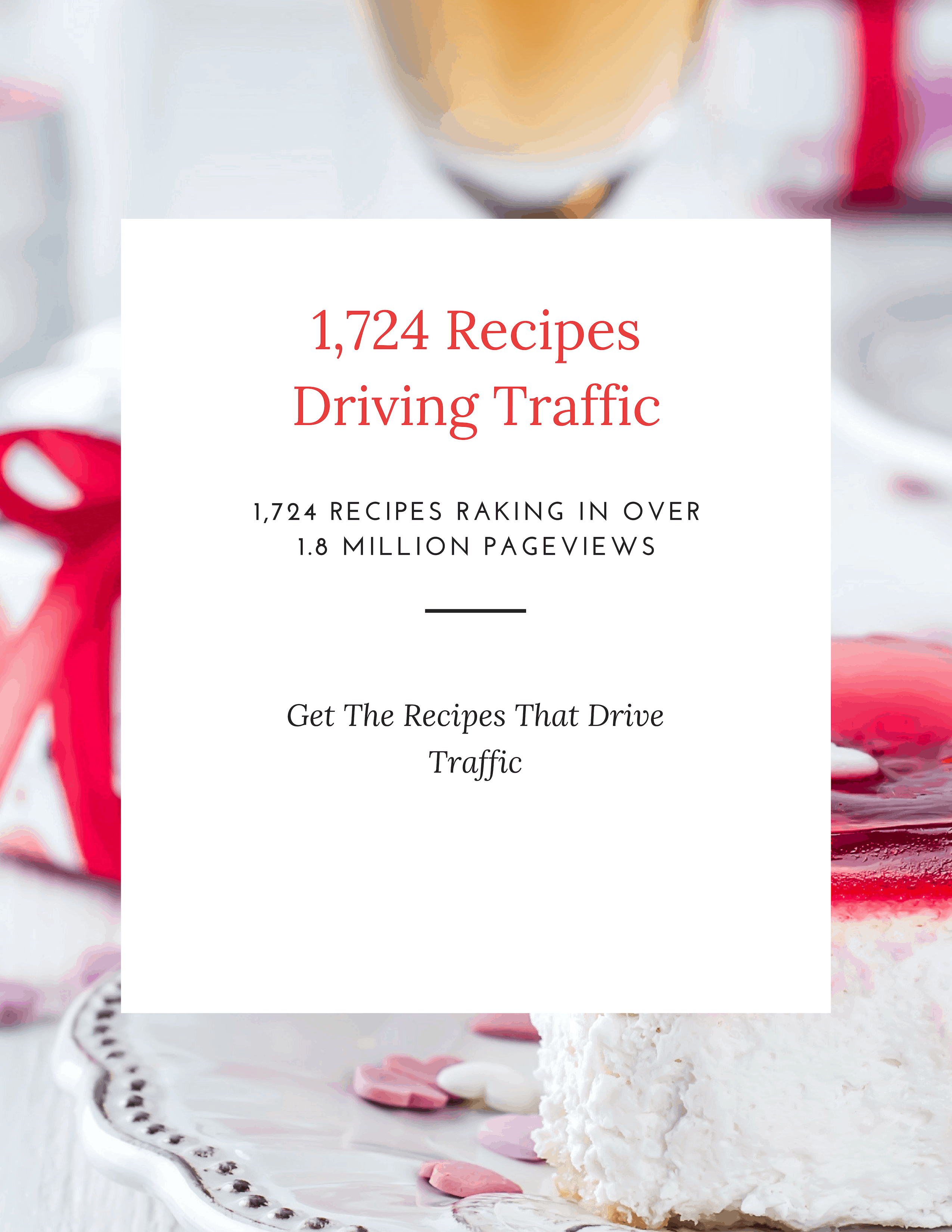 1724 Recipes Raking In 1.8 Million Pageviews