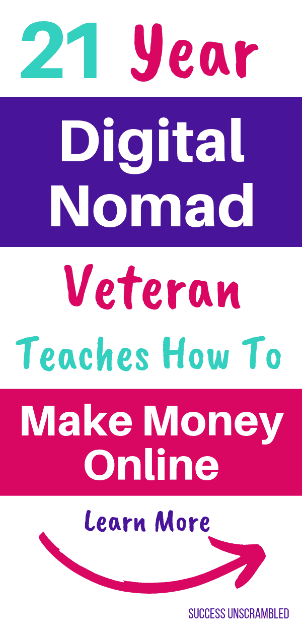 21 Year Digital Nomad Teaches How to Make Money Online