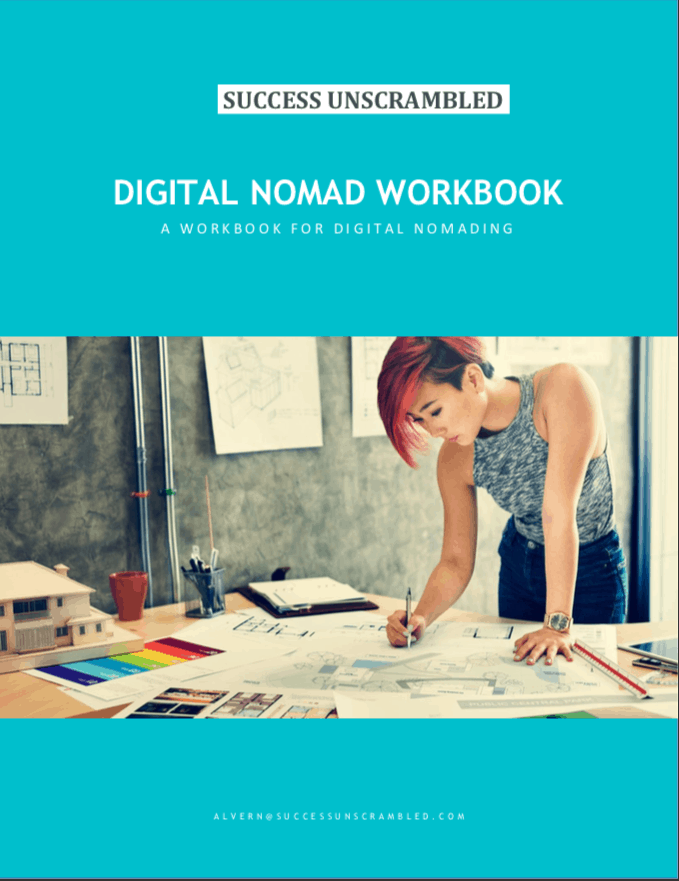 digital nomad workbook - pic