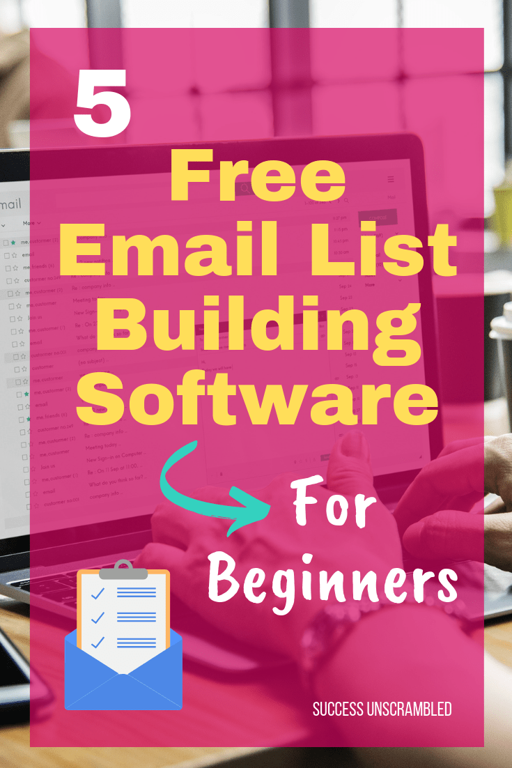 5 Free Email List Building Software