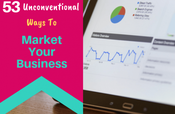 53 Unconventional Ways To Market Your Business - 630x430