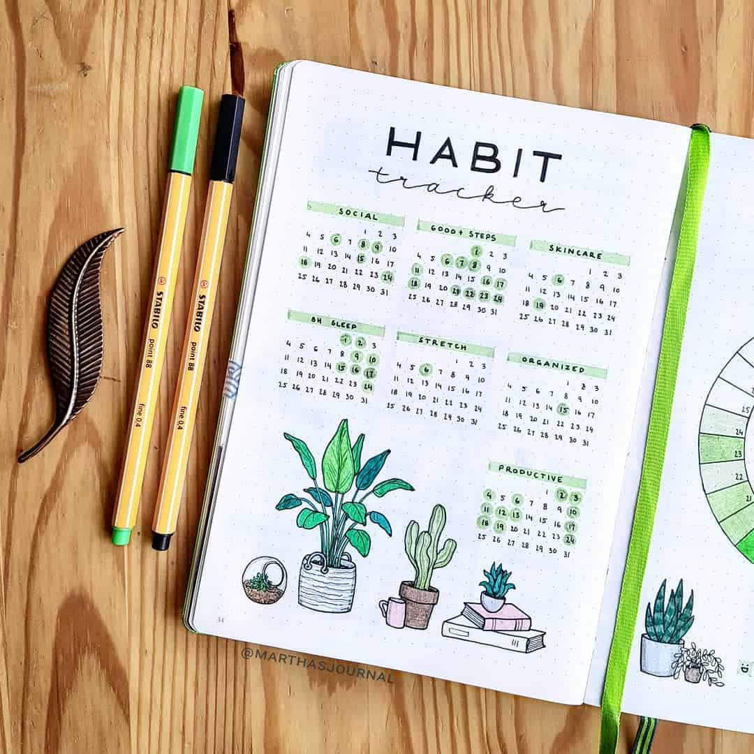 Martha - Instagram - Habit Tracker