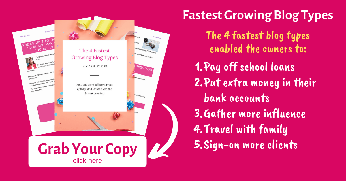 Fastest Growing Blog Types - Blog Post Image - 2