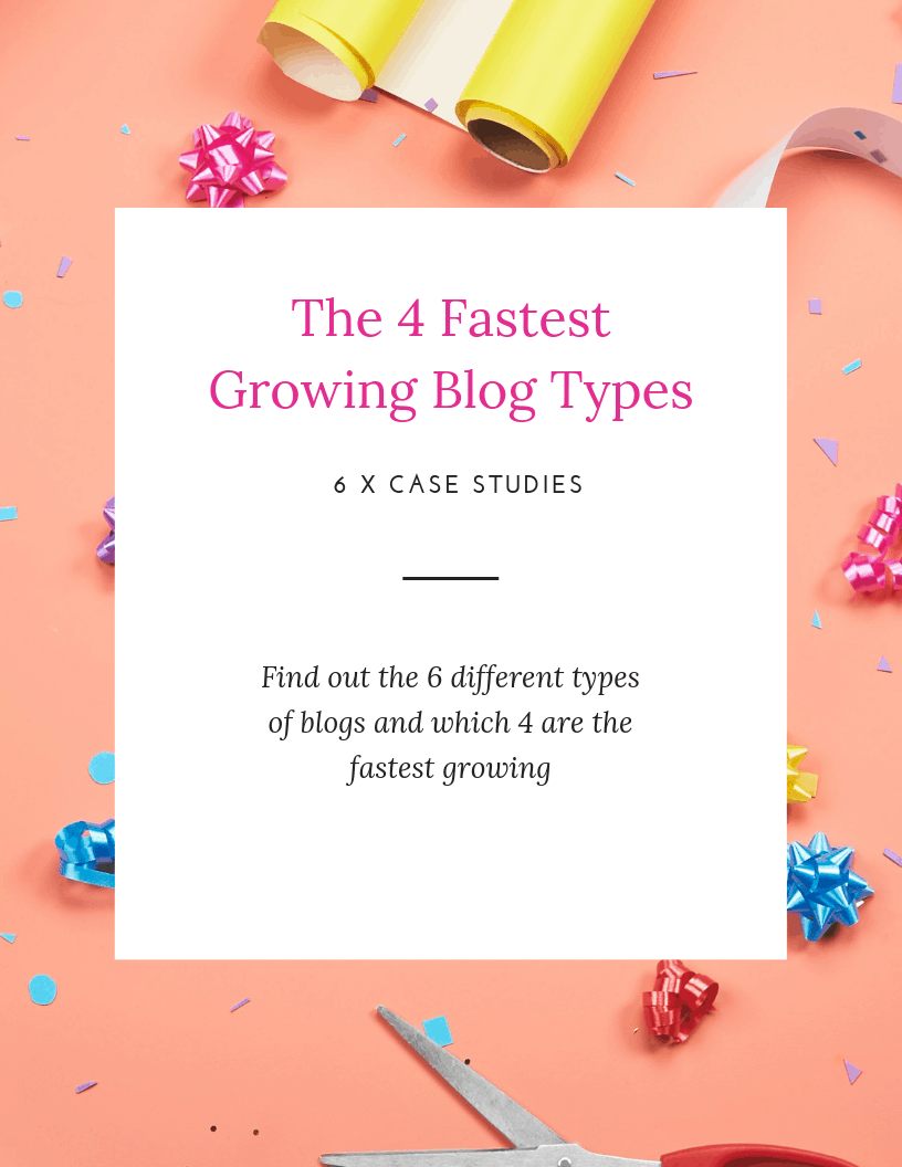 Fastest Growing Blog Types - cover