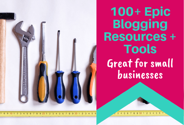 100+ Blogging Resources + Tools - 630x430