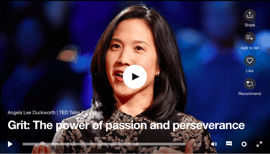 The power of passion and perseverance