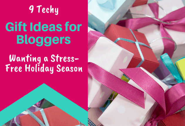 9 Techy Gift Ideas for Bloggers - 630x430