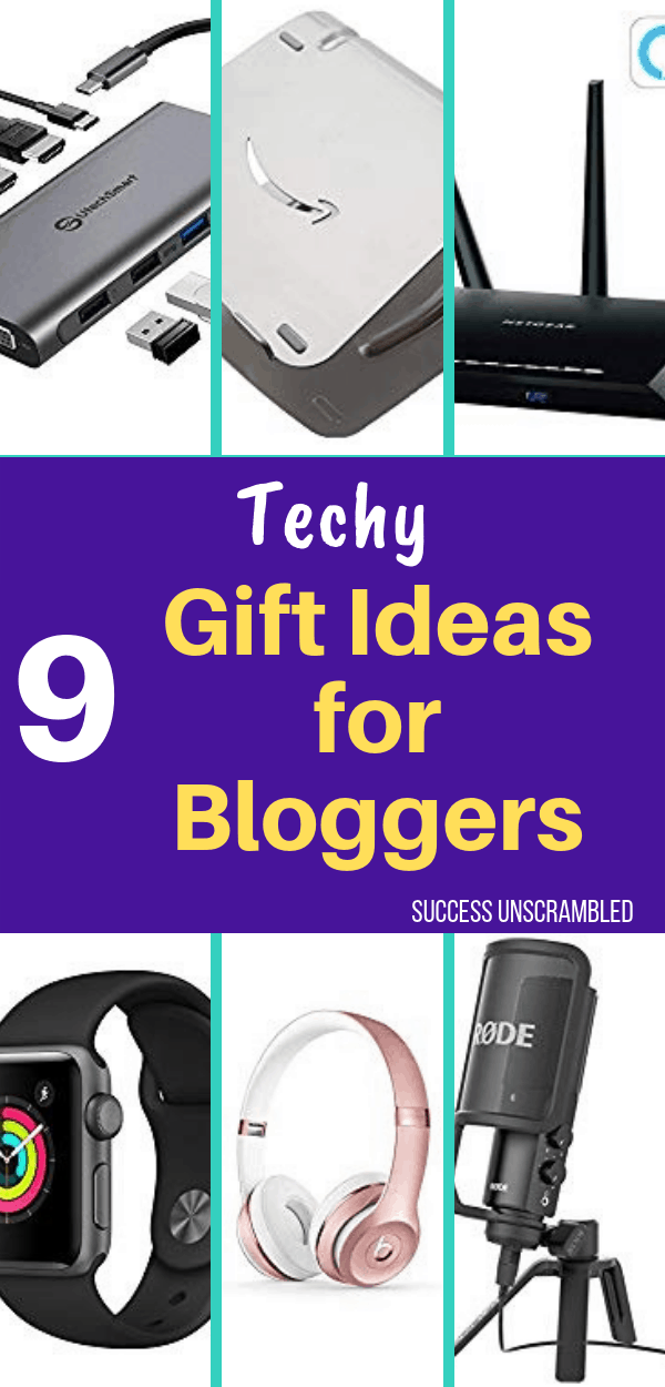 Techy Gift Ideas for Bloggers